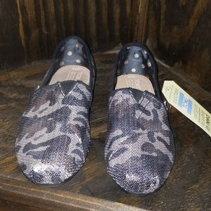 Toms Sequin Camo Shoes